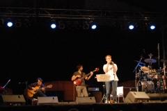 con Mariano Díaz, Chris Kase, Marco Herreros y Manuel de Lucena en el festival Galapajazz