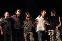 con Mariano Díaz, Marco Herreros, Chris Kase y Manuel de Lucena, Festival Galapajazz