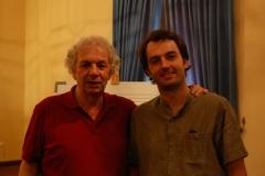 con Ralph Towner en Córdoba