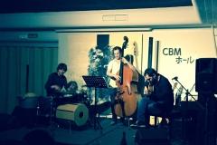Trio Solano con Miguel Rodrigáñez y Jesús Mañeru en el Café Babel, S.L. de El Escorial