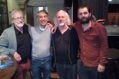 con Uli Bögershausen, Mehmet Ergin y Claus Boesser-Ferrari, Pumpwerk Hockenheim