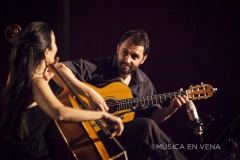 con Iris Azquinezer
