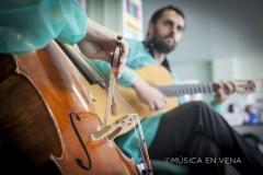 con Zaruk, hospital 12 de octubre, Madrid