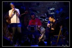 con Chris Kase, Luis Caruana, Marco Herreros y Manuel de Lucena en Sala Reciclaje, Guadarrama